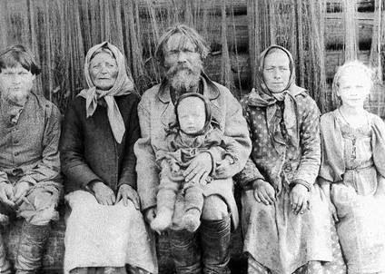 Семья Карельского рыбака