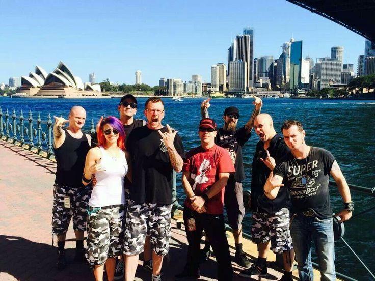 Unmasked in Australia | Mushroomhead | Pinterest | Australia