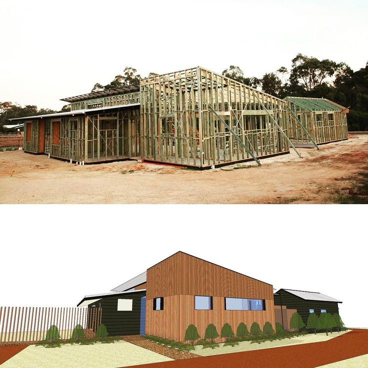 Comparing the 3D model and latest construction for Bell Hall House in #cowaramup. #pertharchitecture #residentialdesign #architecture #recyledtimber #recycledbrick #rammedearth #greatdesignmatters #sustainablecommunity #sustainabledesign #pertharchitecture #sustainableliving #devilinthedetail #kickthecookiecutter  #ambassadorsofgreatdesign #designperth