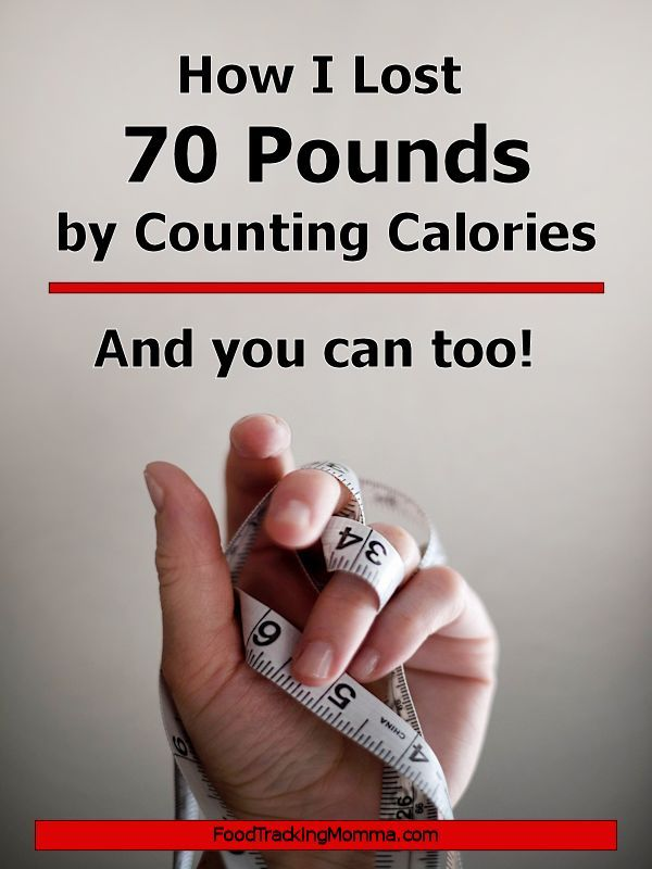 How I Lost 70 pounds by Counting Calories – #calor…