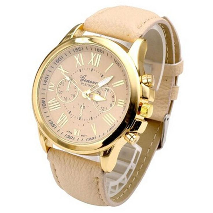 Geneva Luxury Gold Women's PU Leather Band Analog Watches     Tag a friend who would love this!     FREE Shipping Worldwide     Buy one here---> https://www.1topick.com/geneva-luxury-gold-womens-pu-leather-band-analog-watches/