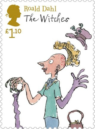 Literary Stamps: Dahl, Roald (1916-1990)
