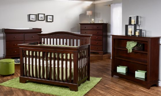 This is our baby's nursery furniture!!! We got the crib, double dresser/changing table, and bookcase:) Thank you Ja Ja and Babcia!!!