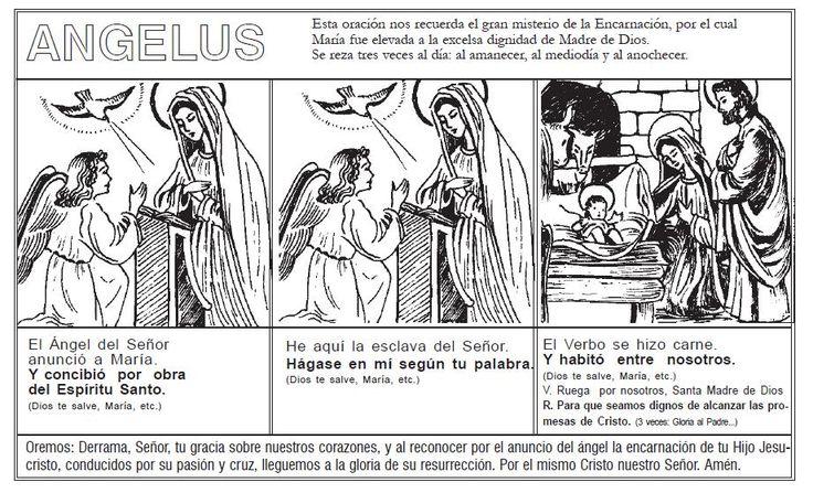 La Catequesis (El blog de Sandra): Aprendemos las oraciones básicas con dibujos