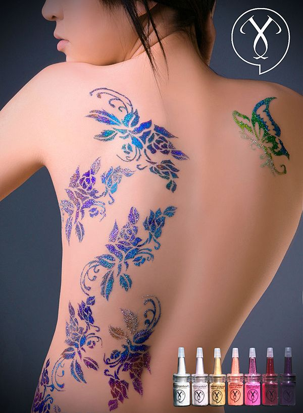 17 best images about glitter tatoo on pinterest gold ink for Where to get glitter tattoos