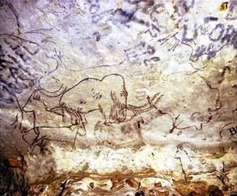 Radiocarbon hookup of ancient rock paintings