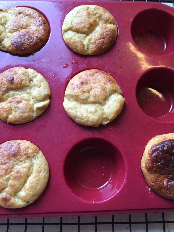 4 Ingredient Protein Muffins Makes 12 Mini Muffins 3 Servings