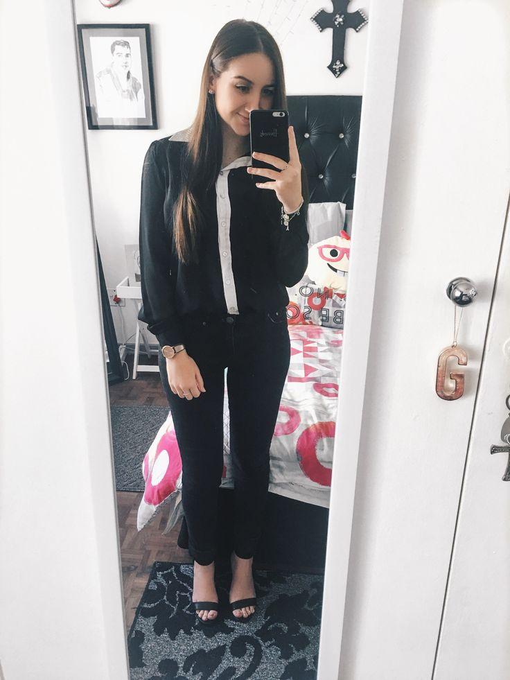 Blessed beyond belief 😇🙏🏼 Instagram: gabrielladematos | Pinterest: gabzdematos  #fashionblogger #fashion #formal #girlboss #girlpower #heels #black #ootd