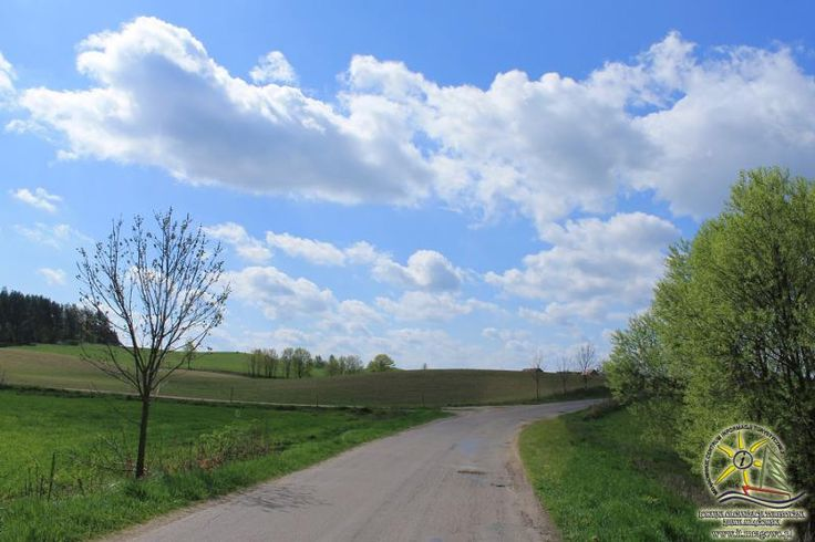 Żółty szlak rowerowy Ernsta Wiecherta.  Źródło: www.it.mragowo.pl