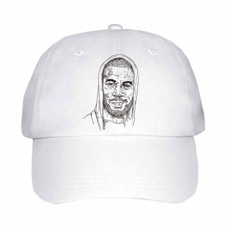 Kid Cudi White Hat/Cap