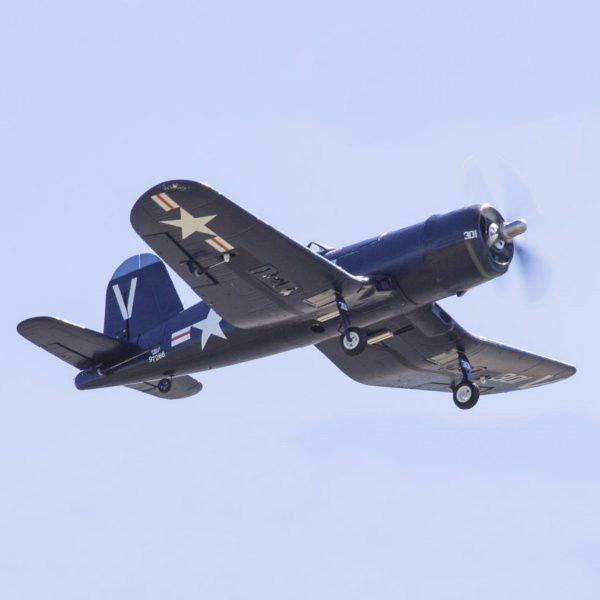 "FMS F4U Corsair V2 Blue 800mm 31.5"" Wingspan Warbird PNP"