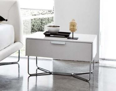 Modern bedside tables available in lots of matt lacquer colours. Check out our website for details. #bedsidecabinets