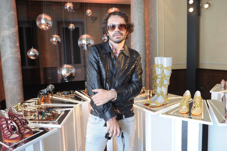 Olivier Zahm #Santoni4Women #Santoni #Santonishoes #SS16 #MFW #fashion #shoes
