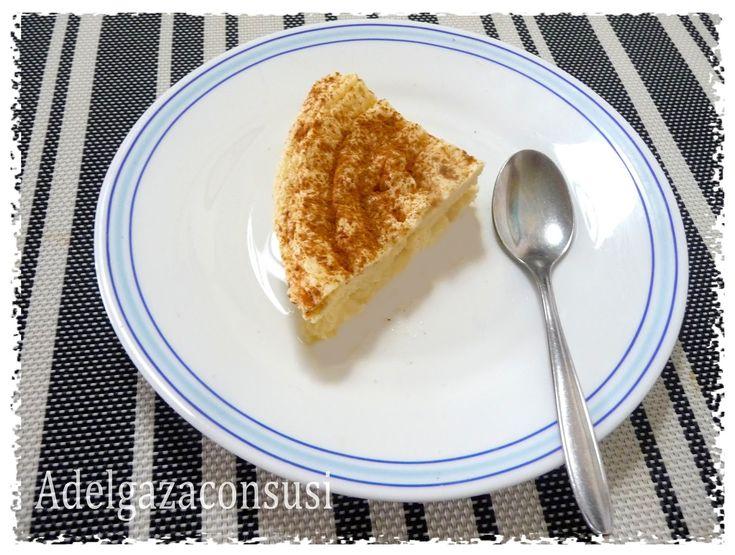 susi: Flan de manzana al microondas, muy ligero tan solo 57kcal la ración!