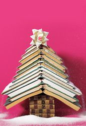 Christmas tree-not a picture idea, but reminds me of you and your love of reading!