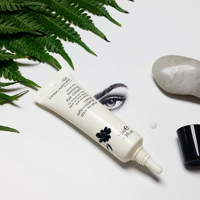 Living Nature Natural Product Eye Cream. Lock in moisture, soothe and firm those fine lines and wrinkles with our Firming Eye Cream!