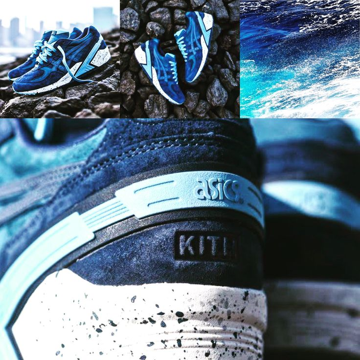 "Ronnie Fieg & Asics Gel Sight ""Atlantic"" & KITH - released on February 27, 2015 #ronniefieg #asics #kithnyc #atlantic #sneakersnews #highsnobiety #ocean #waves #sneakers"