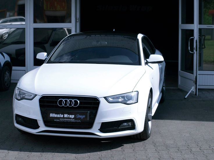 Silesia Wrap Garage Audi a5. Oklejanie samochodów Chorzów.