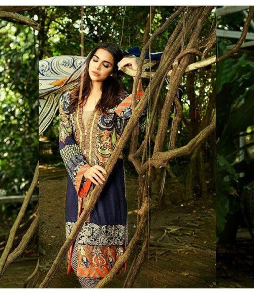 So Kamal Designer Lawn by Ayesha Farook Hashwani 2015 AHF-D-04-B