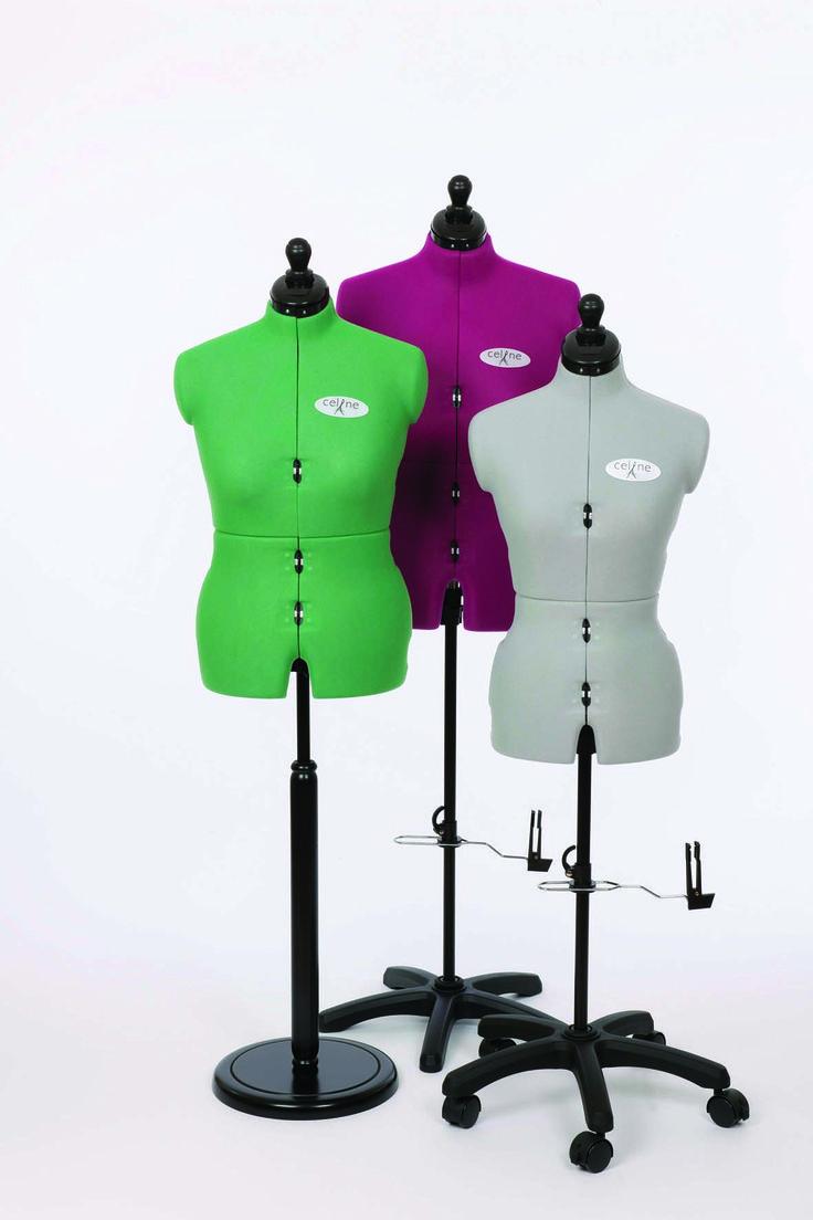 New Celine dress forms from Adjustoform