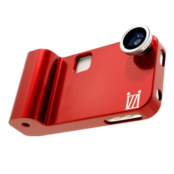 This fisheye lens for iPhone is removable for an easy lens change. Great for all photography skill levels. #izzigadgets