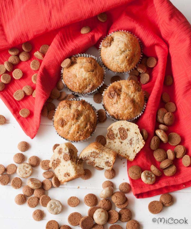 Kruidnotenmuffins - MiCook #sinterklaas