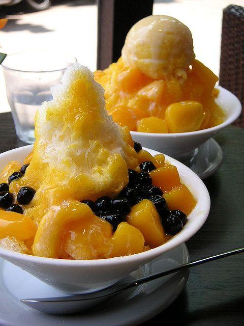 Shaved Ice with Mango