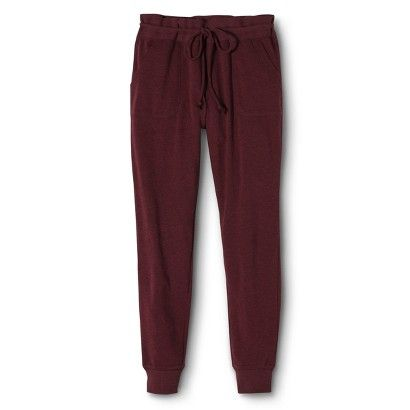 Maroon Joggers for fall ❤️