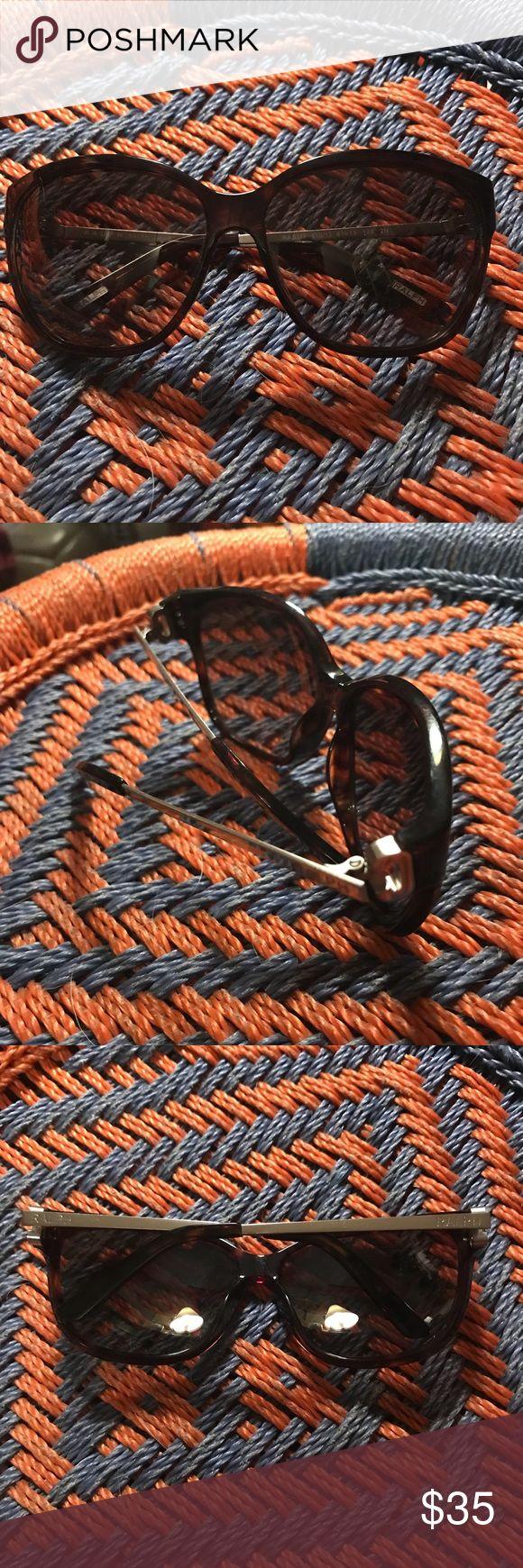 Ralph Lauren sunglasses with side detail Tortoise color. Slight cat eye Accessories Sunglasses