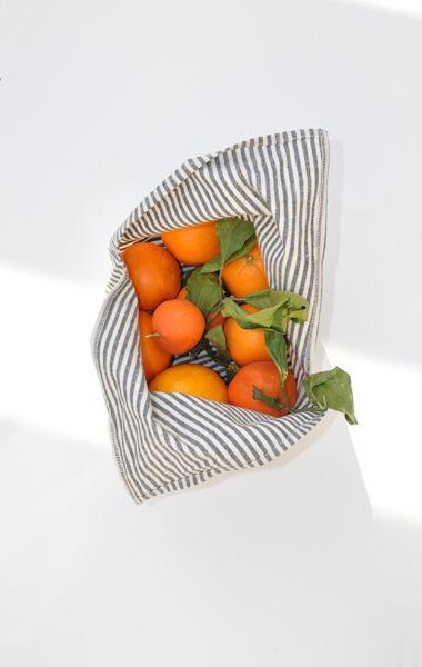 bento toteFruit, Orange You Glad, Food, Ambatalia Stripes, Grey Stripes, Farmers Marketing, Cotton Bags, Stripes Bento, Bento Totes