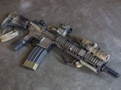 The MK18 is a 10.3 inch short barreled AR-15 made by Daniel Defense. It's grown in popularity in large part due to its utilization by Special Operators wie
