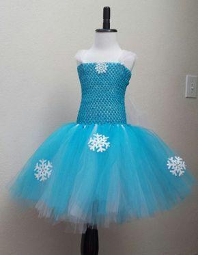 Frozen Elsa Inspired Tutu Dress
