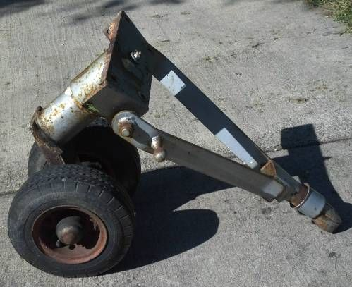 Two Wheel Dolly >> Vintage Slimp Wheel Style Third Wheel Trailer Dolly $1200 | TCT Classifieds - For Sale ...