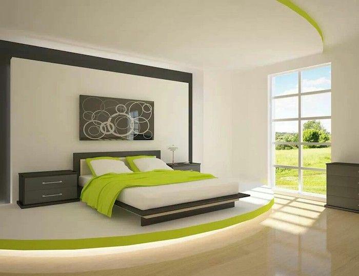 welche farbe passt zu braun, hier sehen sie grün und grau, sie ...