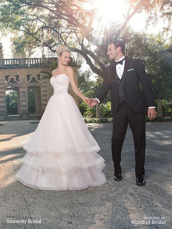 Sincerity Bridal 2016 Wedding Dress #wedding #dresses #bridal #gown #dress