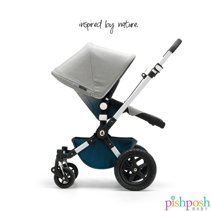 The Bugaboo Limited Edition Cameleon³ Elements Ombre Stroller was inspired by nature's elements. The richly-textured, tweed-like fabric evokes the colors of the deep, blue sea and the wind-blown rocks of the shore. The nature theme is carried through the leaf-shaped pattern on the reversible inlay.   http://www.pishposhbaby.com/bugaboo-cameleon3-elements-limited-edition-stroller.html