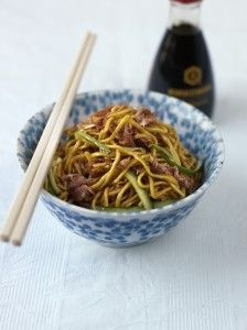 Gok Wan's Leftover roast duck noodles