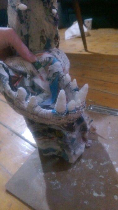Papermachè dragon :)