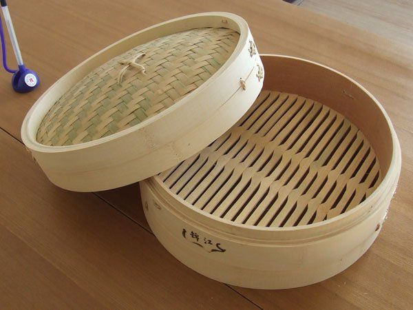 bamboo steamer storage