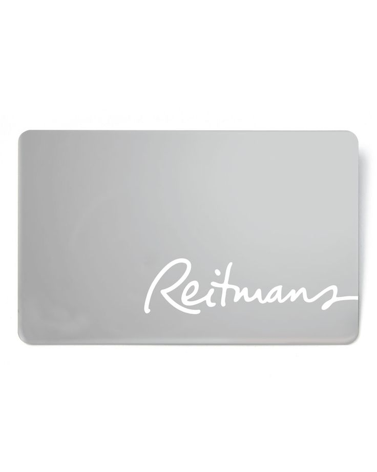 Treat her to a wardrobe update with a Reitmans Gift Card. Reedemable in Reitmans stores only.