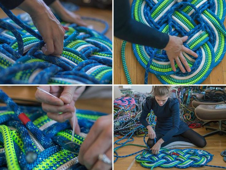 SerpentSea | Bonny Sail Rope Mat | AHAlife