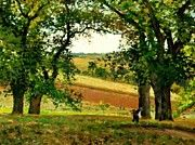 """New artwork for sale! - """" Chestnut Trees At Osny 1873 by Pissarro Camille """" - http://ift.tt/2DgSexh"""
