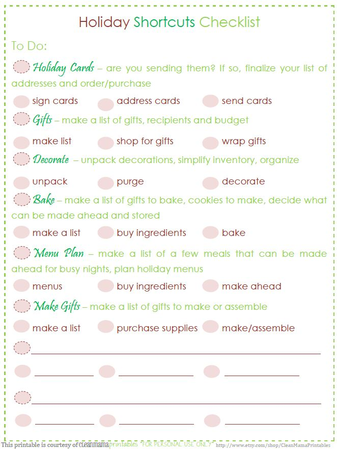 183 best Christmas Planner Printables images on Pinterest - christmas to do list template