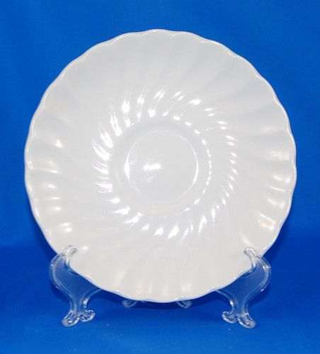 9 best china antique vintage images on pinterest dish dishes and johnson brothers regency saucer only 5 75 in all white swirl ironstone england ebay fandeluxe Image collections