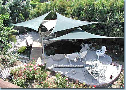 Shade Sail - #1 Top Quality Tensioned Shade Structures and Tensioned Fabric Structures from Shadesails.com! The Official Site