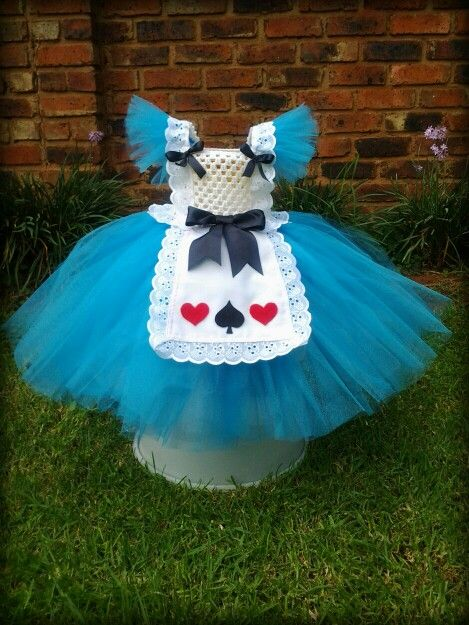 The latest Pretty Missy tutu dress. Alice in Wonderland.
