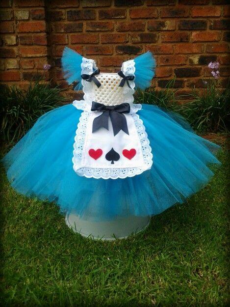 The latest Pretty Missy tutu dress. Alice in Wonderland.