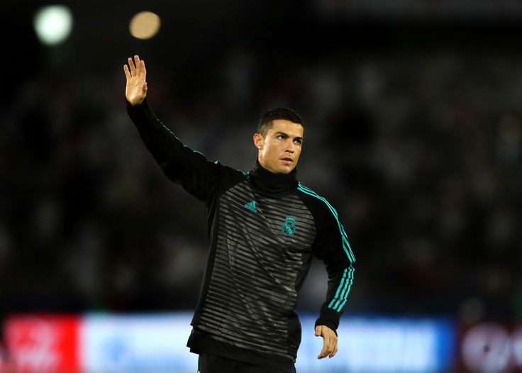 Cristiano Ronaldo Photos - Cristiano Ronaldo of Real Madrid warms up during the FIFA Club World Cup UAE 2017 semi-final match between Al Jazira and Real Madrid on December 13, 2017 at the Zayed Sports City Stadium in Abu Dhabi, United Arab Emirates. - Al Jazira v Real Madrid CF - FIFA Club World Cup UAE 2017