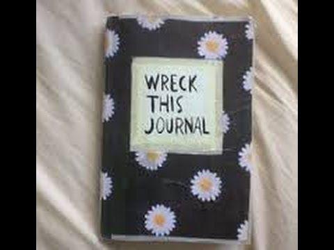 Wreck this journal/Zniszcz ten dziennik #1 #zniszcztendziennikwszedzie #zniszcztendziennik #kerismith #wreckthisjournal #book #ksiazka #KreatywnaDestrukcja #DIY
