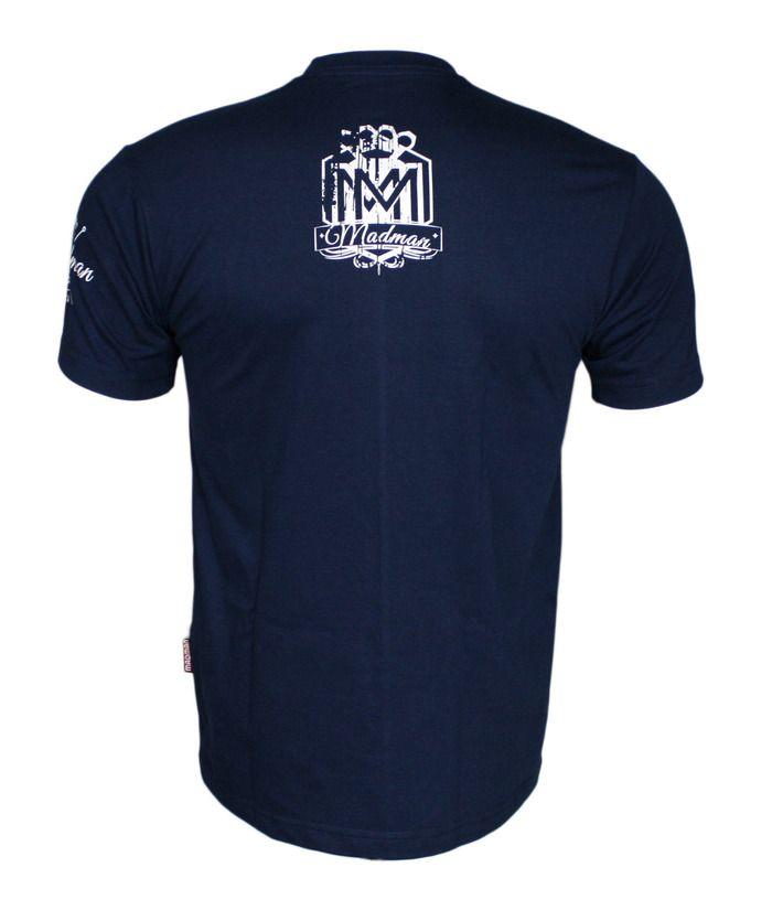 Koszulka 'Logo' granatowa - tył ---> Streetwear shop: odzież uliczna, kibicowska i patriotyczna / Przepnij Pina!